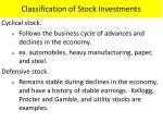 classification of stock investments2