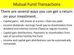 mutual fund transactions1