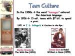 teen culture