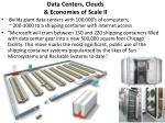 data centers clouds economies of scale ii
