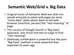 semantic web grid v big data