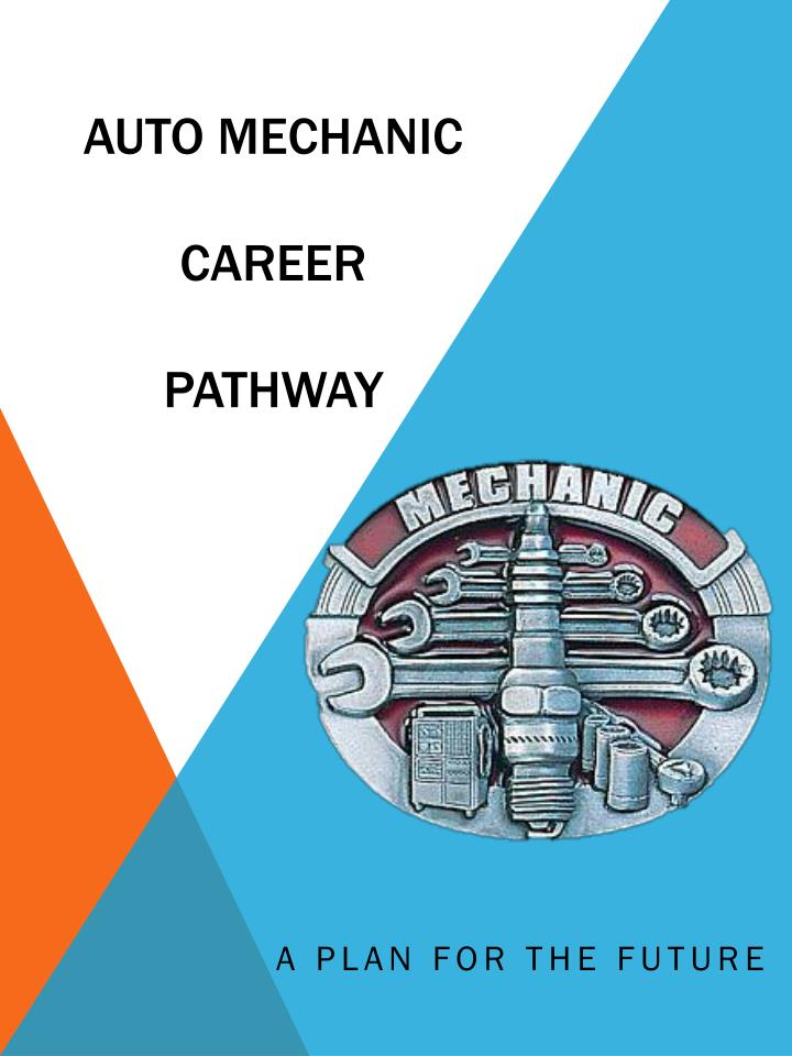 auto mechanic career pathway n.