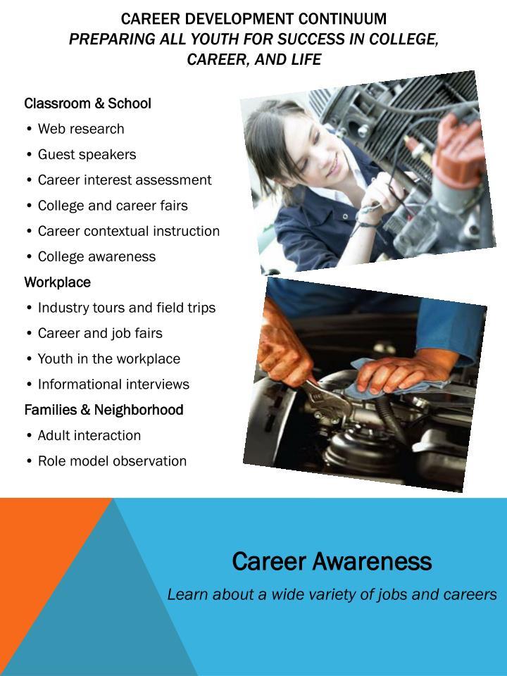 Innovative Classroom Training Methods ~ Ppt auto mechanic career pathway powerpoint presentation