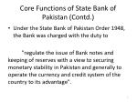 core functions of state bank of pakistan contd1