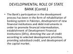 developmental role of state bank contd2