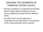 ensuring the soundness of financial system contd3