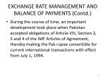 exchange rate management and balance of payments contd3
