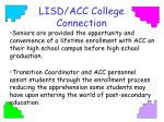 lisd acc college connection