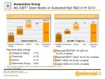 automotive group adj ebit 1 down mainly on sustained high r d in h1 2013