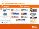 downstream our retail brands across north america