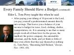 every family should have a budget continued1