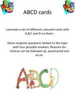 abcd cards