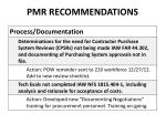pmr recommendations1