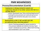 pmr weaknesses2
