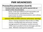 pmr weaknesses5