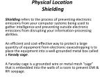 physical location shielding
