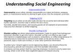 understanding social engineering1