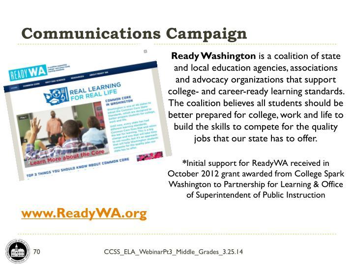Communications Campaign