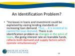 an identification problem