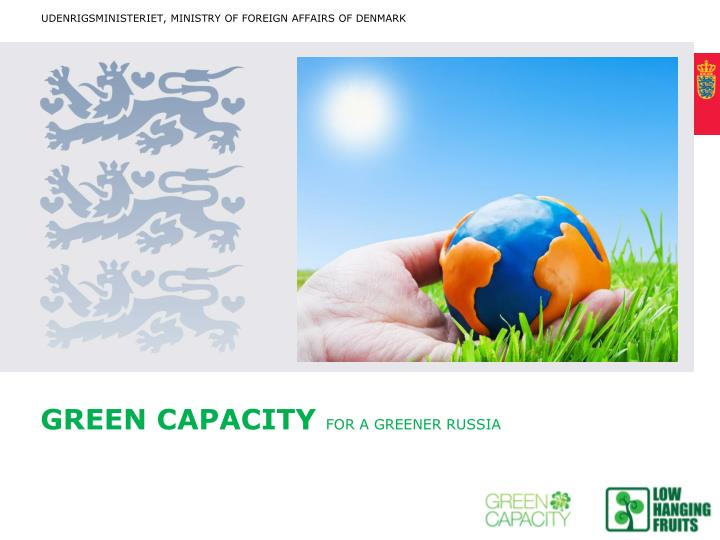 green capacity for a greener russia n.