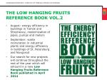the low hanging fruits reference book vol 2