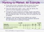 marking to market an example1