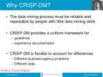why crisp dm