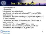 non start up model