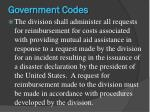 government codes2