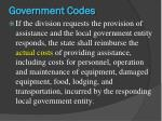 government codes3