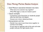 data mining market basket analysis
