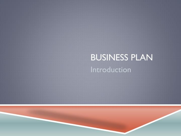 business plan n.