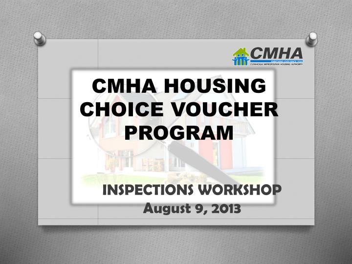 cmha housing choice voucher program n.