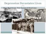 depression devastates lives
