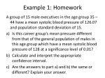 example 1 homework