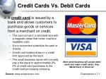 credit cards vs debit cards1