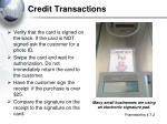 credit transactions
