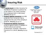 insuring risk