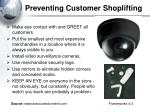 preventing customer shoplifting