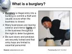 what is a burglary