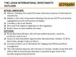 the latam international investments outlook