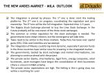 the new andes market mila outlook