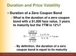 duration and price volatility12
