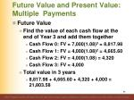 future value and present value multiple payments2