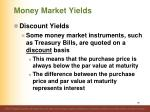 money market yields5