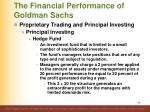 the financial performance of goldman sachs4