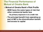 the financial performance of mutual of omaha bank2