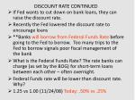 discount rate continued3