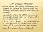 definition of service