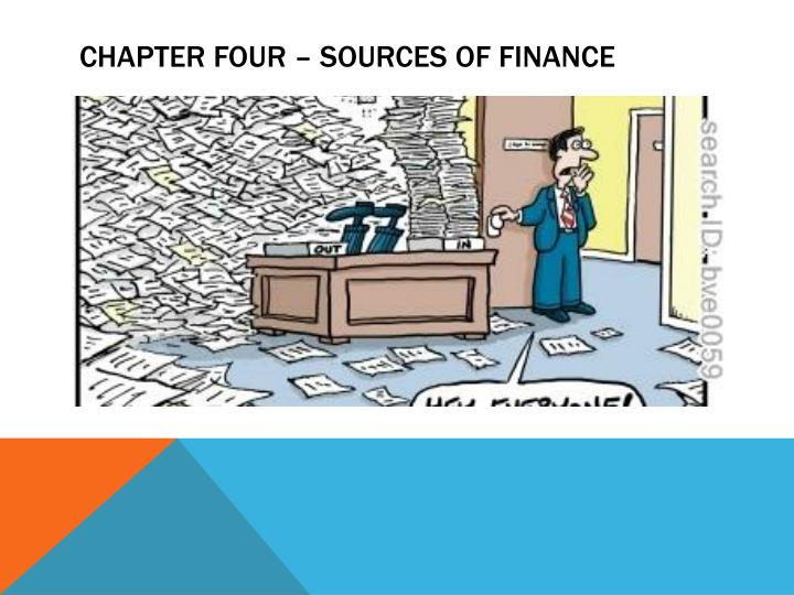 chapter four sources of finance n.